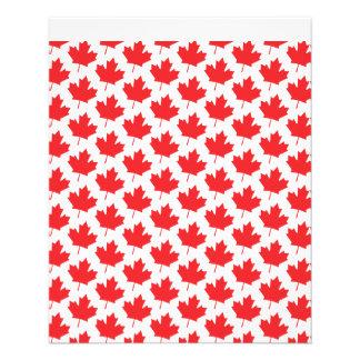 """Canadian Maple Leaf Canada Day National Symbol 4.5"""" X 5.6"""" Flyer"""