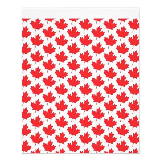 Canadian Maple Leaf Canada Day National Symbol Flyers
