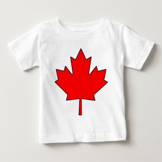 Canadian Maple Leaf Canada National Symbol Baby T-Shirt