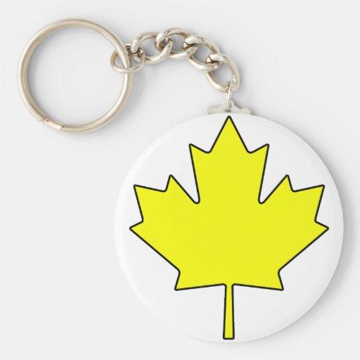 Canadian Maple Leaf Canada National Symbol Key Chains