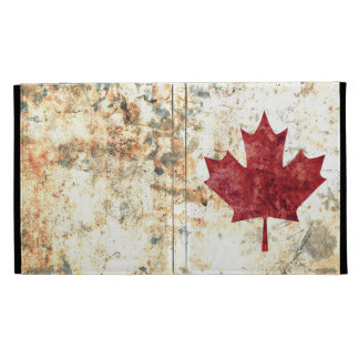 Canadian Maple Leaf iPad Folio Case