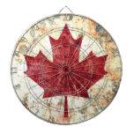 Canadian Maple Leaf Dart Board