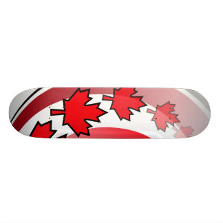 Canadian Maple Leaf Deck Skate Boards
