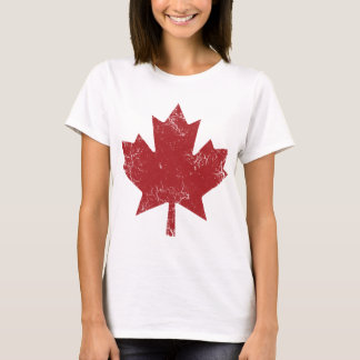 Canadian Maple Leaf (Distressed) T-Shirt