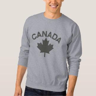 Canadian Maple Leaf Embroidery CANADA Sweatshirts