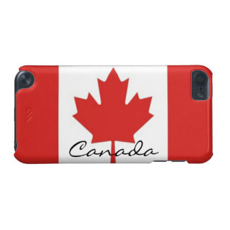 Canadian Maple Leaf Flag iPod Touch (5th Generation) Covers