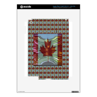 Canadian Maple Leaf Flag iPad 3 Skins