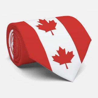 Canadian Maple Leaf Flag Tie