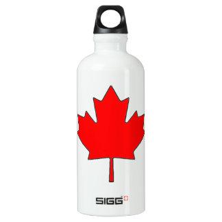 Canadian Maple Leaf Flag Water Bottle