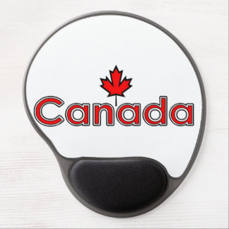 Canadian Maple Leaf Gel Mouse Pad