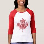 Canadian Maple Leaf Grunge Style CANADA Tshirts