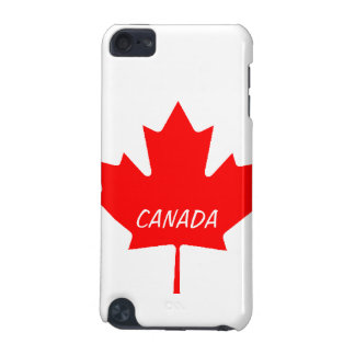 Canadian Maple Leaf Hard Shell iPod Touch Case