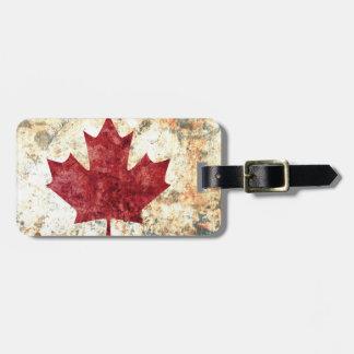 Canadian Maple Leaf Luggage Tags