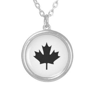 Canadian Maple Leaf Custom Necklace