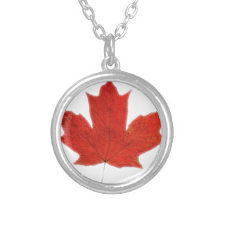 Canadian... Maple leaf Necklace
