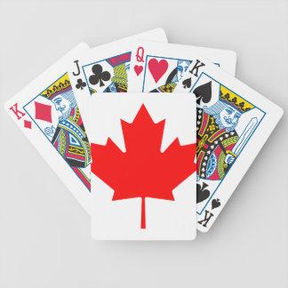 Canadian Maple Leaf Card Decks