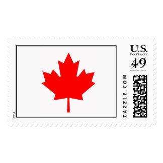 Canadian Maple Leaf Postage Stamps