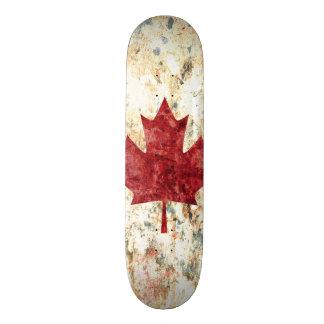 Canadian Maple Leaf Skate Board