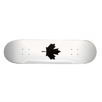 Canadian Maple Leaf Skate Deck
