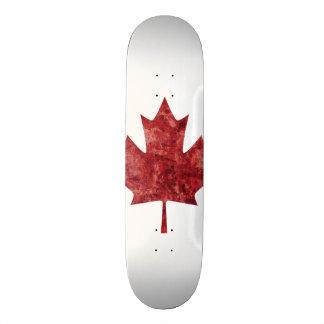 Canadian Maple Leaf Skateboard Deck