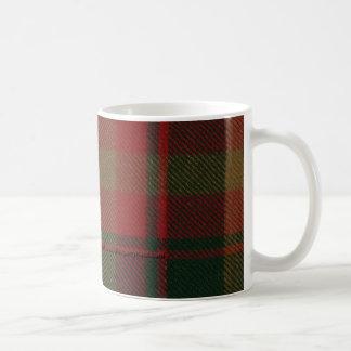 Canadian Maple Leaf Tartan Mug