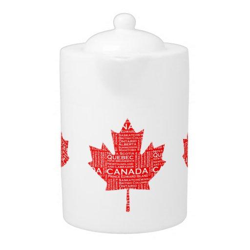 Canadian Maple Leaf w/Text