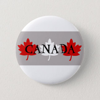 Canadian Maple Leafs Pinback Button