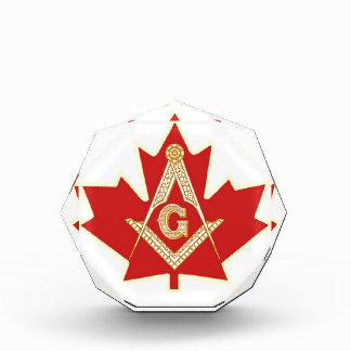 CANADIAN MASON ACRYLIC AWARD