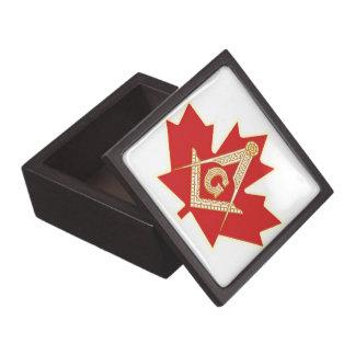 CANADIAN MASON PREMIUM KEEPSAKE BOX