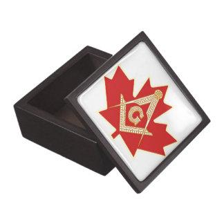 CANADIAN MASON PREMIUM TRINKET BOX
