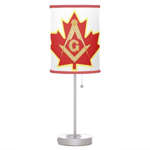 CANADIAN MASONS LAMPS