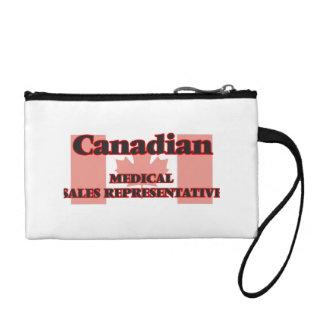 Canadian Medical Sales Representative Change Purses