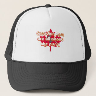 Canadian men are all aboot the pussy trucker hat