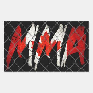 Canadian MMA Sticker