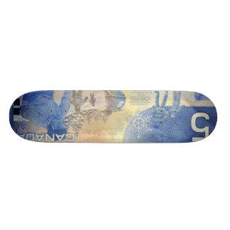Canadian Money Skateboard