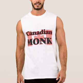 Canadian Monk Sleeveless T-shirts