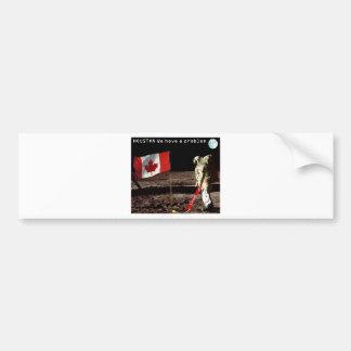 Canadian  Moon Landing Bumper Sticker
