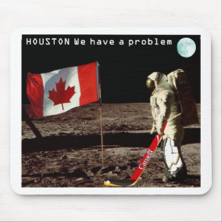 Canadian  Moon Landing Mouse Pad