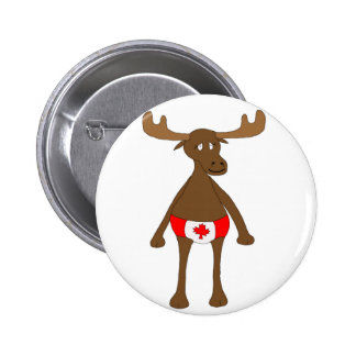 Canadian Moose Button