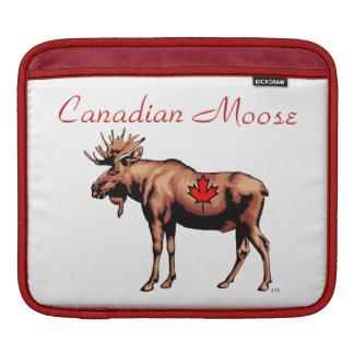 Canadian Moose iPad Sleeve