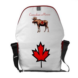 Canadian Moose Messenger Bag