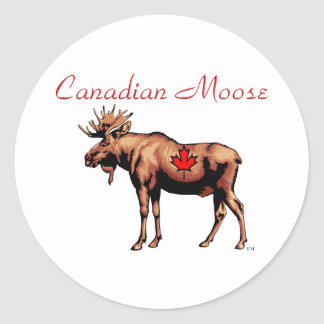 Canadian Moose Stickers