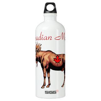 Canadian Moose Traveller Water Bottle