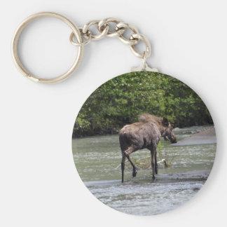 Canadian Moose Wildlife Animal Key Chain