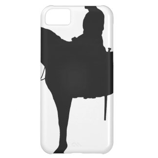 Canadian Mountie Silhouette Cover For iPhone 5C