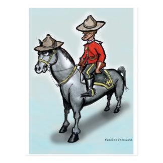 Canadian Mounty Postcards