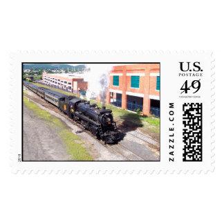 Canadian National #3254 Mikado Steam Engine Stamp