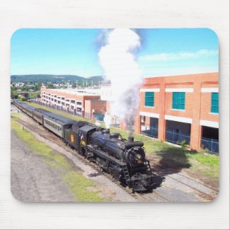 Canadian National 3254 Mikado Type Steam Engine mousepad
