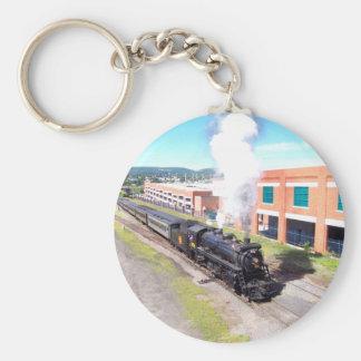 Canadian National #3254 Steam Engine KeyChain