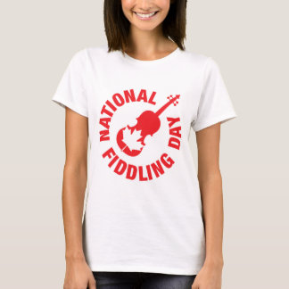 Canadian National Fiddling Day T-Shirt